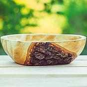 Посуда handmade. Livemaster - original item Wooden dish / Bowl / Bowl. Handmade.