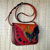 Сумки и аксессуары handmade. Livemaster - original item Even multi-colored! )). Handmade.