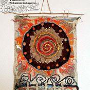 Картины и панно ручной работы. Ярмарка Мастеров - ручная работа войлочное панно-оберег. Handmade.