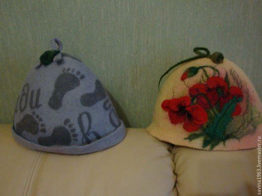 Банные принадлежности ручной работы. Ярмарка Мастеров - ручная работа. Купить банные шапки. Handmade. Комбинированный, оригинальный подарок