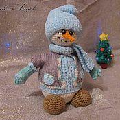 """Куклы и игрушки ручной работы. Ярмарка Мастеров - ручная работа Мастер-класс """"Снеговик"""". Handmade."""