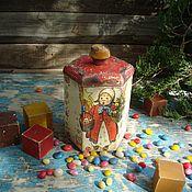 """Подарки к праздникам ручной работы. Ярмарка Мастеров - ручная работа """"Конфетти"""" короб банка бонбоньерка. Handmade."""