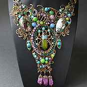 Украшения handmade. Livemaster - original item necklace Treasure. Handmade.
