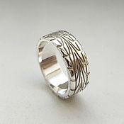 handmade. Livemaster - original item Ring tire (protector) made of silver (Ob52). Handmade.