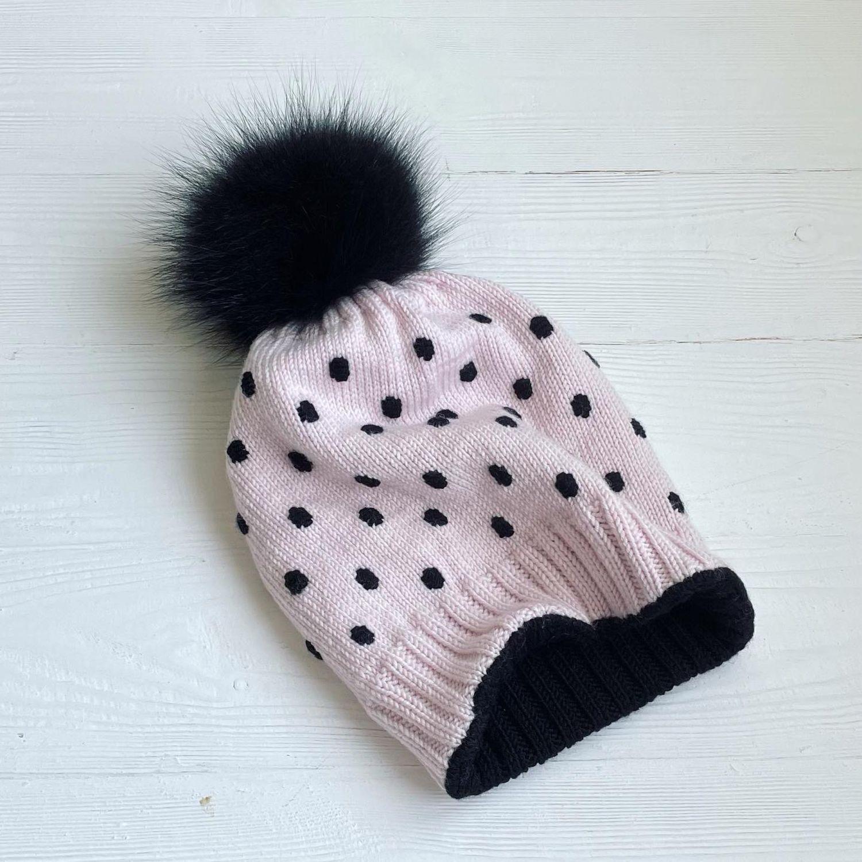 Зимняя шапка на девочку, Шапки, Москва,  Фото №1