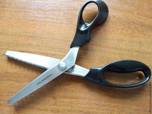 """Шитье ручной работы. Ярмарка Мастеров - ручная работа. Купить Ножницы фигурные зигзаг """"Волна"""". Handmade. Инструменты для, серебряный, инструмент"""