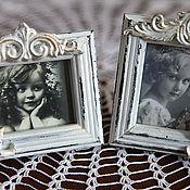 Сувениры и подарки handmade. Livemaster - original item Small photo frames Vintage charm.French style.. Handmade.