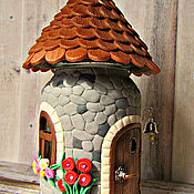Посуда handmade. Livemaster - original item House for Gnome decor polymer clay. Handmade.