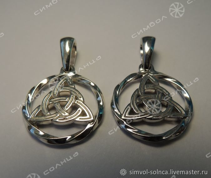 Amulet Triskel (Triglav, Shamrock, Triquetre), Pendants, Sochi,  Фото №1