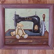 """Картины и панно ручной работы. Ярмарка Мастеров - ручная работа """"  Plush workshop  """". Handmade."""