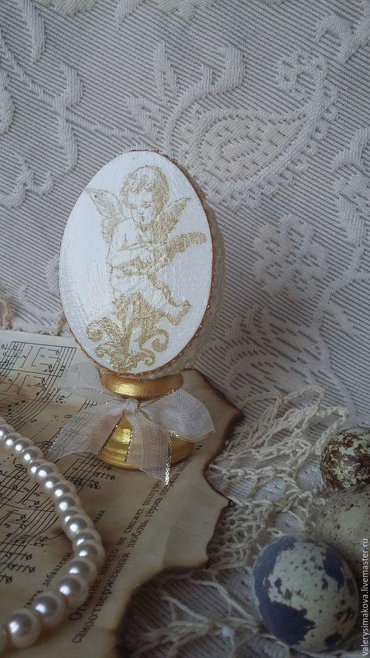 Подарки на Пасху ручной работы. Ярмарка Мастеров - ручная работа. Купить Пасхальный сувенир (1). Handmade. Белый, пасхальный декор