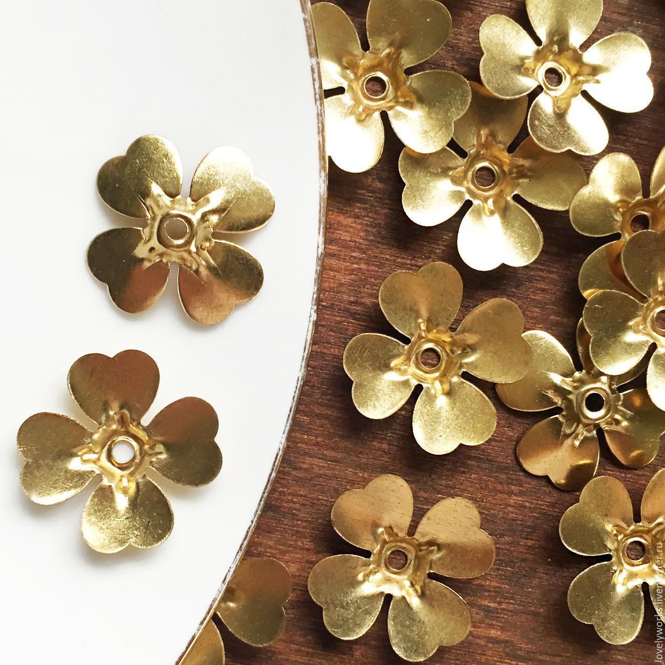 Бусины металлические цветы и бабочки купить в россии что можно купить мужчине в подарок на день рождения