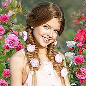 """Фото ручной работы. Ярмарка Мастеров - ручная работа Фотошаблон """"Розы"""". Handmade."""