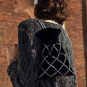 Сумки и аксессуары handmade. Livemaster - original item Velvet bag FOR POLLY. Handmade.