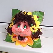 Сувениры и подарки handmade. Livemaster - original item Doll Popik
