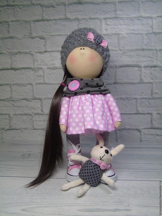 Коллекционные куклы ручной работы. Ярмарка Мастеров - ручная работа. Купить Текстильная кукла Лиса. Handmade. Интерьерная кукла, кукла