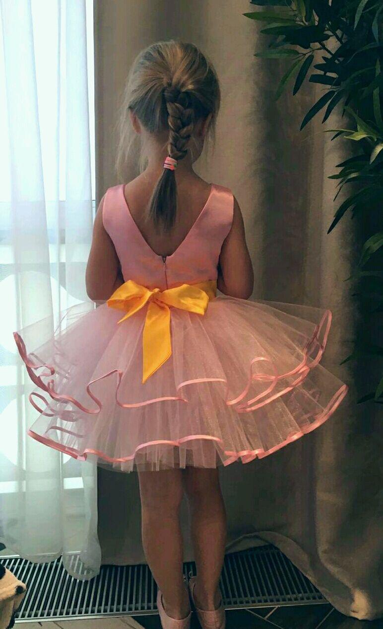 """Платье нарядное с пышной фатиновой юбкой """"Модница - 1"""""""