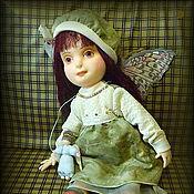 Куклы и игрушки ручной работы. Ярмарка Мастеров - ручная работа Текстильная кукла Сашенька.. Handmade.