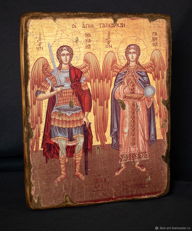 Icon ' Archangels Michael and Gabriel', Icons, Simferopol,  Фото №1