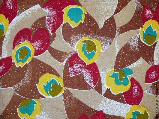 Шитье ручной работы. Ярмарка Мастеров - ручная работа. Купить 5 Крепдешин Натуральный шелк Винтаж СССР 2 м 70 см. Handmade.