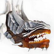 """Магниты ручной работы. Ярмарка Мастеров - ручная работа Магнит """"Змей"""". Handmade."""