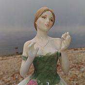 Винтажные предметы интерьера ручной работы. Ярмарка Мастеров - ручная работа Фарфоровая статуэтка Royal Worcester ограниченный выпуск. Handmade.