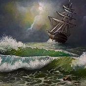 Картины и панно ручной работы. Ярмарка Мастеров - ручная работа Море.... Handmade.