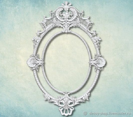 Mold 'Frame' art. ARTMD0937, Elements for decoupage and painting, Serpukhov,  Фото №1