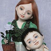 Куклы и игрушки ручной работы. Ярмарка Мастеров - ручная работа Кай и Герда (шарнирные куклы). Handmade.