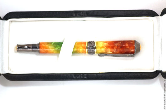 Карандаши, ручки ручной работы. Ярмарка Мастеров - ручная работа. Купить Подарочная коробка из эко-кожи. Handmade. Подарочная упаковка