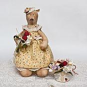 """Куклы и игрушки ручной работы. Ярмарка Мастеров - ручная работа """"Машутка"""". Текстиль  Не мишка-тедди!!!. Handmade."""