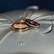 """Украшения ручной работы. Ярмарка Мастеров - ручная работа Обручальные кольца """"Classic Diamonds"""". Handmade."""