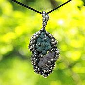 Pendants handmade. Livemaster - original item Pendant with natural Indonesia agate of silver 925 sample. Handmade.
