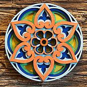 """Фен-шуй и эзотерика ручной работы. Ярмарка Мастеров - ручная работа Мандала из дерева """"Персидский рассвет"""". Handmade."""