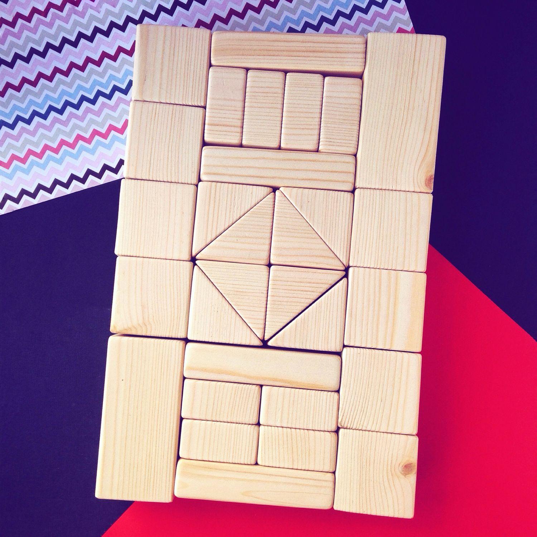 Конструктор деревянный, 30 деталей, Декупаж и роспись, Выкса, Фото №1