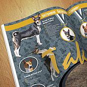 Дизайн и реклама ручной работы. Ярмарка Мастеров - ручная работа Коллаж и развороты журнала для клуба собаководов. Handmade.