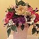 Цветы ручной работы. Ярмарка Мастеров - ручная работа. Купить Букет цветов из полимерной глины. Handmade. Свадьба, свадебные аксессуары