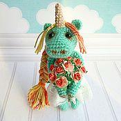 Куклы и игрушки ручной работы. Ярмарка Мастеров - ручная работа Весеняя единорожка Мирра. Handmade.
