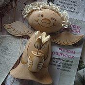 """Куклы и игрушки ручной работы. Ярмарка Мастеров - ручная работа Ангел """"ПРЯНИК"""" с тюльпаном ( подвесная ). Handmade."""