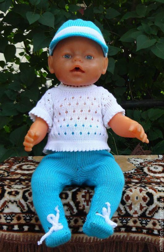 Одежда для кукол ручной работы. Ярмарка Мастеров - ручная работа. Купить Комплект для Беби Бона. Handmade. Комбинированный, белый цвет
