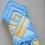 Работы для детей, ручной работы. Ярмарка Мастеров - ручная работа Одеяло-конверт на выписку для новорожденного. Handmade.