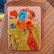 Для дома и интерьера ручной работы. Ярмарка Мастеров - ручная работа девочка и цветы. Handmade.