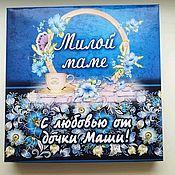 Шокобокс для любимой мамы
