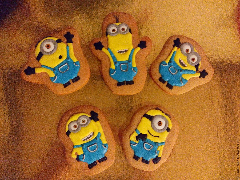 Печенье миньоны своими руками фото 594