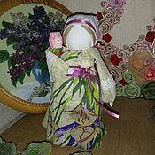 Народная кукла ручной работы. Ярмарка Мастеров - ручная работа Обереговая Приглашёние малыша в семью и счастливое материнство. Handmade.