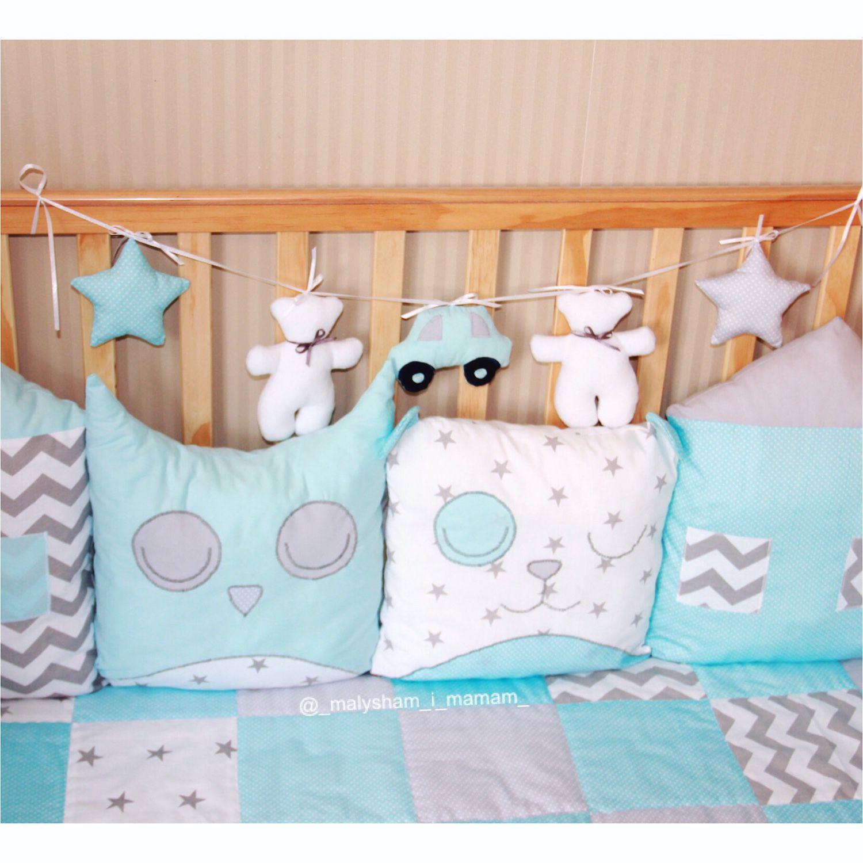 Бортики для детской кроватки своими руками размеры