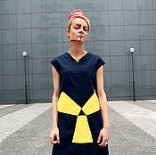 """Одежда ручной работы. Ярмарка Мастеров - ручная работа Летнее платье """"Опасная зона"""". Handmade."""