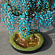 Tree Wisteria turquoise and coral. Trees. World of creativity. Online shopping on My Livemaster.  Фото №2