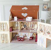 Куклы и игрушки handmade. Livemaster - original item Dollhouse with furniture. Handmade.