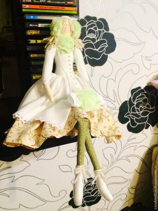 Куклы Тильды ручной работы. Ярмарка Мастеров - ручная работа. Купить Снежный ангел. Handmade. Ангел тильда, кукла в подарок